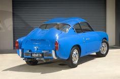 Blue 1959 Fiat Abarth Zagato 750