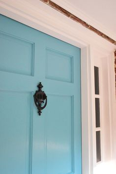 Painting ideas your front door on pinterest front What kind of paint to use on exterior door