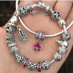 Same bracelets as yesterday but with some redsLove it Pandora Bracelets, Pandora Jewelry, Pandora Charms, Pandora Offers, Memorable Gifts, How To Memorize Things, Gems, Charmed, Metals