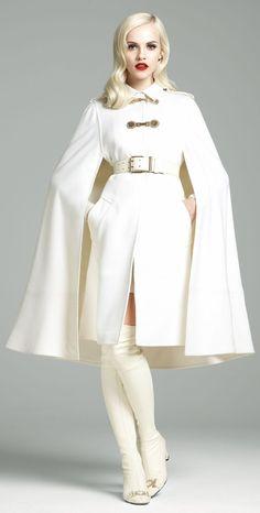 #Versace FW 2012-2013 #Trend Cape fabulous !