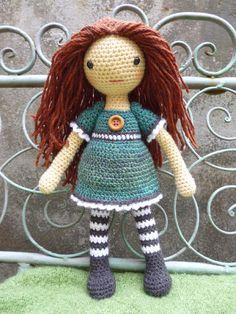 Emily Doll Crochet pattern by Moji-Moji Design   Crochet Patterns   LoveCrochet