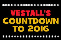 Vestall's New Year Countdown 2016 | Days Left Til New Year | Count Down NYE