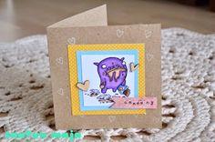 Santun Maja: Toukokuun kortteja. Happy Birthday card!