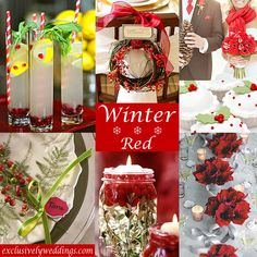 Winter Wedding – What's your color? | Exclusively Weddings Blog ...