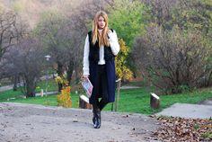 F&F – Top / Sheinside – Vest / Zara – Pants / Jessica Buurman – Boots / Gemini – Ring.