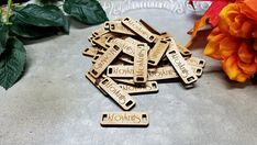 These custom wooden product tags are fantastic! Choose from 4 different wood stains. You can even get custom shaped tags and your logo engraved! Add some extra flair to your hand made items! Get yours from the affiliate link below: Etsy.com – Starting at $14.99!