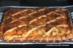 Cuadernos de cocina: Hornazo de Salamanca Bread Cake, Spanish Food, Lasagna, Tapas, Sandwiches, Pie, Pasta, Cooking, Ethnic Recipes