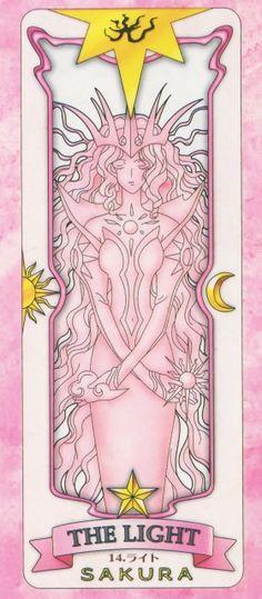 The Light Sakura Card