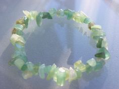 Aventurine Gemstone Bracelet via Hippychick Creations. Click on the image to see more!