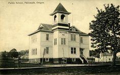 Public School, Philomath, Oregon 1910