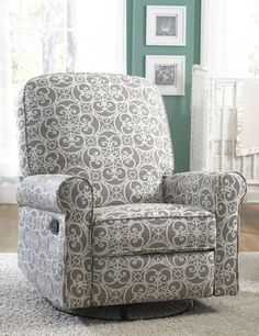 Add A Bold Touch To Your Decor With This Pulaski Ashewick Swivel Glider  Recliner Chair. In Gray Ash.