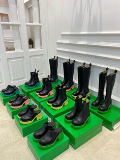 Bottega Veneta BV boots platform sneakers