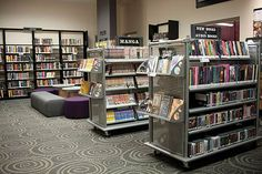 Frankfort Community Public Library Teen Space - DEMCO Library Interiors
