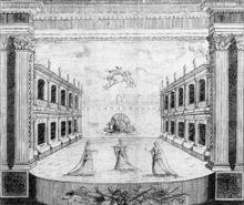 Reinaissance --> Drury Lane Theatre, 1674.