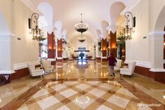 Valentin Imperial Maya  lobby