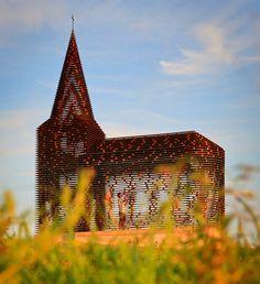 Amazing Church Project by Gijs Van Vaerenbergh