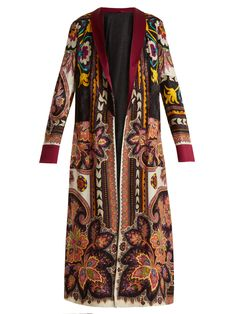 Click here to buy Etro Anil Suzani reversible coat at MATCHESFASHION.COM