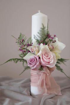 Baptism Decorations, Ribbon Decorations, Rustic Wedding Dresses, Wedding Flowers, Baptism Candle, Teepee Kids, Rose Arrangements, Peonies Bouquet, Star Wedding