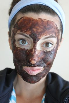 Avocado/chocolate face mask:  1. Avocado: Anti-aging, moisturize, prevent acne  2. Coconut Oil: Moisturize and refresh skin, reduce wrinkles, repair and prevent skin damage   3. Coconut Milk: clean face from any dirt and refresh skin  4. Cocoa Powder: Loaded with tons of vitamins and minerals for skin, including a high source of antioxidants.   5. Yogurt: Reduce pore size, give a healthy glow to skin, treat acne and acne scars