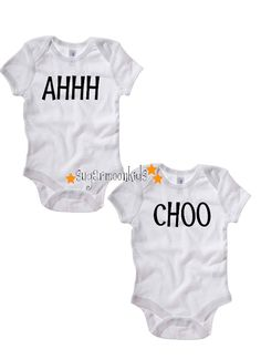 Completely Adorable Twin Onesies 1699 On Etsy