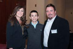 Beautiful family...Mike, Michelle and Gavin Minor.