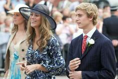 Princesses Anunciata and Marie, with their brother, Josef Emmanuel of Liechtenstein