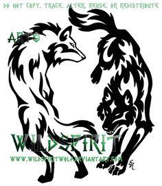 Wolf tattoo - WildSpiritWolf deviantART