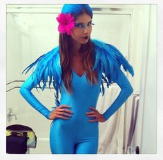 Jewel! Blue macaw costume from The movie Rio!