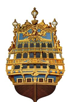 """French First Rate Ship of the Line """"Le Soleil Royal"""" ~1670"""