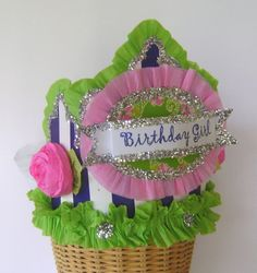 BIRTHDAY GIRL   Birthday  Crown  Hat  Adult or Child- customize with any saying on Etsy, $24.00