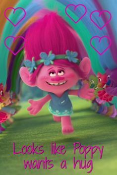 A jumbo size Dreamworks Trolls Poppy doll for extra big hugs, and includes a comb to tame that wild Troll hair.