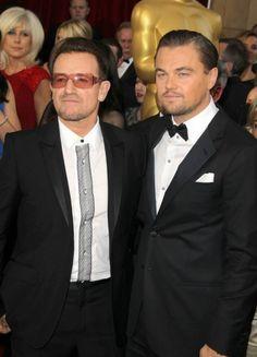 Bono & Dicaprio