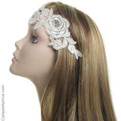 Livraison SUIVI 48H Bijoux de tête Floral Couronne Fleurs Coiffure Mariée Soirée