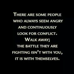 ANGRY PEOPLE ARE BATTLING WITH THEMSELVES
