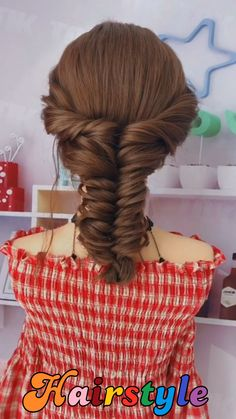 Easy & Quick Hairstyle Braid Tutorial For Long And Medium Length Hair Step By Step Beautiful hairstyles for school - Easy Hair Style for Long Hair - Party Hairstyles - Hairstyles tutorials for girls #braidstyles #hairtutorial #hairvideos #braidedhair #dutchbraids #frenchbraid #videotutorial #bridehairstyles hairstyles easy hairstyles quick #hairstyles curly bun hairstyles easy hairstyles for long #hair cute hairstyles back to school hairstyles party hairstyles hair #tutorialhairstyles Unique Braided Hairstyles, Braided Hairstyles Tutorials, Quick Hairstyles, Bride Hairstyles, Headband Hairstyles, Summer Hairstyles, Hairstyle Braid, Beautiful Hairstyles, Heatless Hairstyles