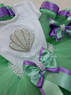 Casual T Shirt Dress, Birthday Fashion, Mermaid Parties, Mermaid Birthday, Diy Clothes, Baby Knitting, Kids Outfits, Kids Fashion, Short Sleeve Dresses