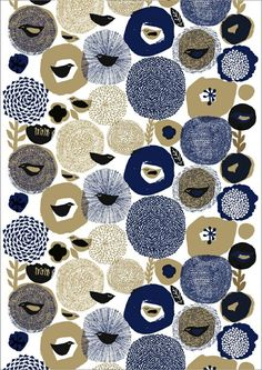 Matti Pikkujamsa, pattern, design, birds, printmaking, texture, mark making, repeat, illustration