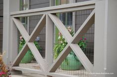 The wooden pergola is a good solution to add beauty to your garden. If you are not ready to spend thousands of dollars for building a cozy pergola then you may devise new strategies of trying out something different so that you can re Porch Railing Designs, Front Porch Railings, Deck Railings, Porch Handrail Ideas, Pergola With Roof, Diy Pergola, Pergola Ideas, Pergola Carport, Walkway Ideas