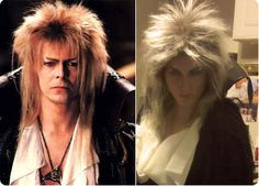 David Bowie, the Goblin King from the Labyrinth