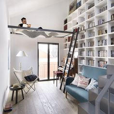 Residence in Madrid Spain designed by Egue y Seta Architecture d signers via d.signers- interior, design Posted to Souda's Tumblr From the Pinterest Board: Interior Design - Modern Interiors from Contemporary Designers