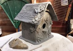 The Phozone: Pottery Bird Houses for My Feathered Friends