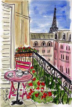 I just love Paris!  :) Aline ♥