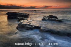 foto de la costa mar cantabrico