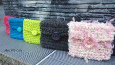 Porte monnaie au crochet #crochet #DIY #idéecadeau