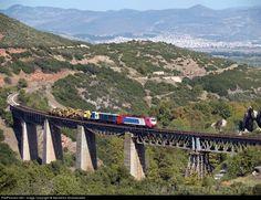The new Gorgopotamos bridge