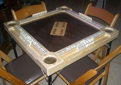 Folding Domino Table Build Plans