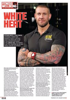 """Uživatel Steve White na Twitteru: """"Check out my article in this months @BoyzMagazine, for more info click here https://t.co/3N9LzhHOqN https://t.co/woraENTYPX"""""""
