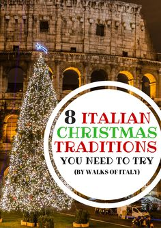 The Best Christmas Traditions in Italy - Italy has some beautiful Christmas traditions like putting a Christmas tree front of the Colosseum. Christmas In Italy, Best Christmas Markets, Christmas Travel, Little Christmas, Christmas Holidays, Christmas Decorations, Christmas Ideas, Christmas Crafts, Cosy Christmas