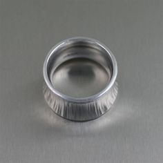 Awe-inspiring New Post (Chased Anticlastic Aluminum Band Ring) Has Been Published on Handmade Jewelry Lookbook http://handmade-designer-jewelry.blogspot.com/feeds/1710408430011588784/comments/default