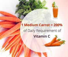Did you know how healthy carrots are….